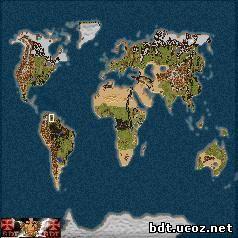 Карта мира (World) скачать торрент